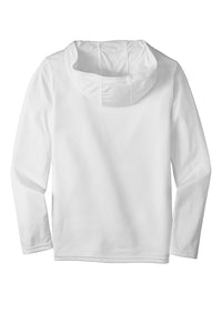 Gildan Performance Core Hooded T-Shirt - White