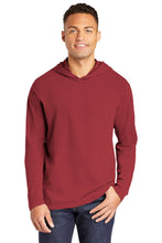 ALUMNI Comfort Colors ® Heavyweight Ring Spun Long Sleeve Hooded Tee CRIMSON