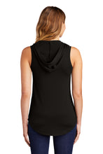 District ® Women's Perfect Tri ® Sleeveless Hoodie-BLACK