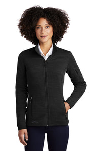 Eddie Bauer ® Ladies Sweater Fleece Full-Zip-BLACK