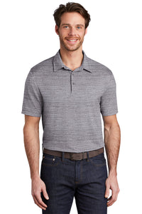 Port Authority ® Stretch Heather Polo-GRAPHITE