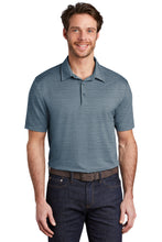 Port Authority ® Stretch Heather Polo-REGATTA BLUE