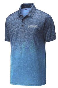MEN'S Sport-Tek ® Ombre Heather Polo CAROLINA BLUE