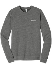 UNISEX Bella+Canvas ® Unisex Sponge Fleece Raglan Sweatshirt-GRAY TRI-BLEND