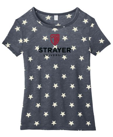Alternative Women's Eco-Jersey™ Ideal Tee-Stars