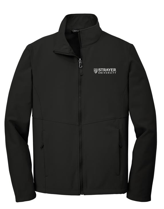MEN'S Port Authority ® Collective Soft Shell Jacket-DEEP BLACK