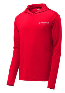 MEN'S Sport-Tek ® PosiCharge ® Competitor ™ Hooded Pullover TRUE RED