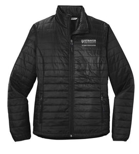 Port Authority ® Ladies Packable Puffy Jacket - Deep Black