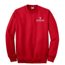 DryBlend® Crewneck Sweatshirt RED