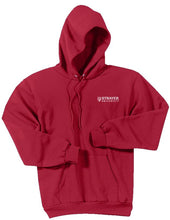 Unisex Core Fleece Pullover Hooded Sweatshirt RED