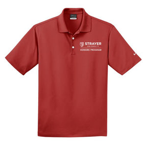 HONORS Nike Dri-FIT Micro Pique Polo-Varsity Red