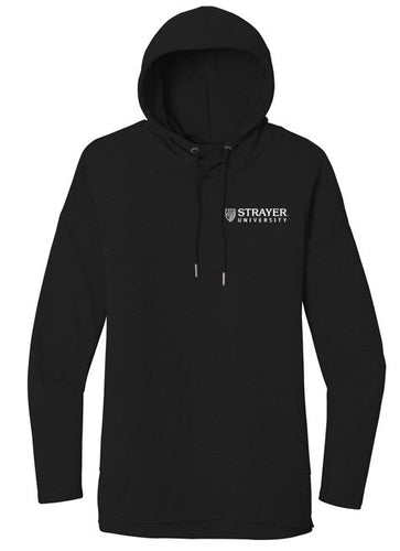 District ® Women's Featherweight French Terry ™ Hoodie-BLACK