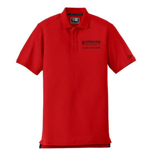 ALUMNI New Era® Venue Home Plate Polo CRIMSON