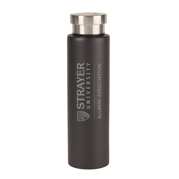 Alumni Napa Double Wall Stainless Water Canteen - 25 Oz. Black