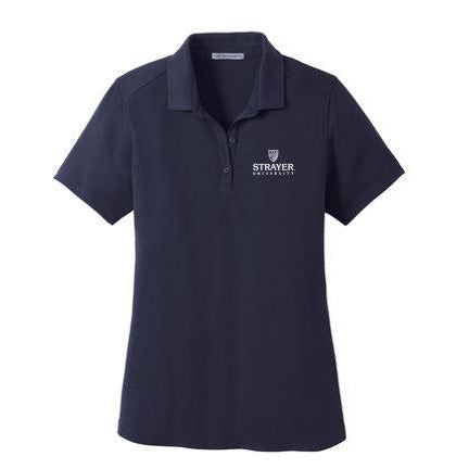 Port Authority® Ladies SuperPro™ Knit Polo NAVY