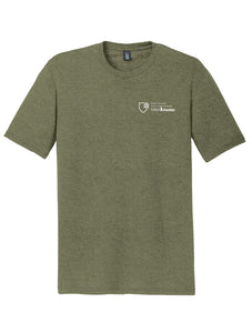 MBA CHEDDAR - District Perfect Tri Tee - Military Green Frost