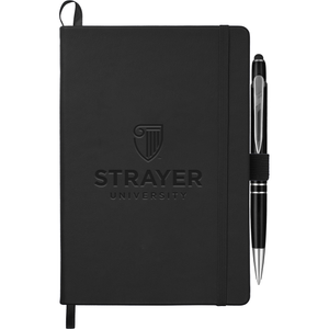 "5.5"" x 8.5"" Trento Bound JournalBook® Bundle Set - Black"