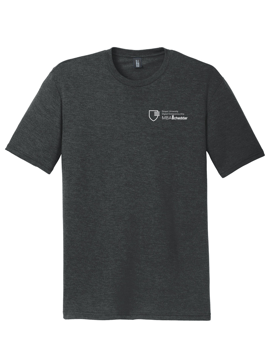 MBA CHEDDAR - District Perfect Tri Tee - Black Frost