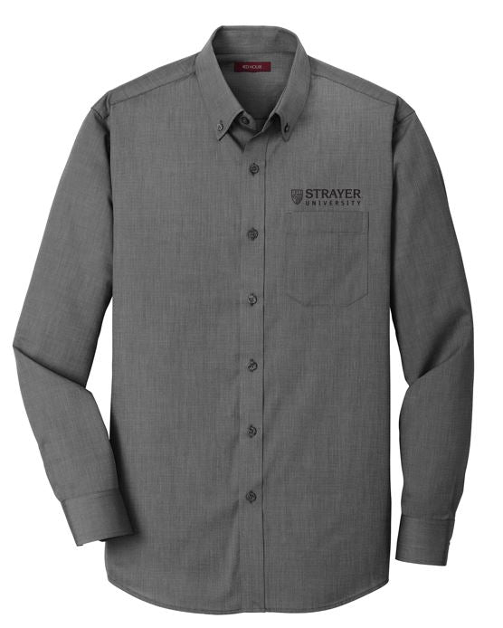 Red House® Nailhead Non-Iron Shirt BLACK