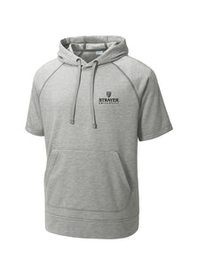 Sport-Tek PosiCharge Tri-Blend Wicking Fleece Short Sleeve Hooded Pullover