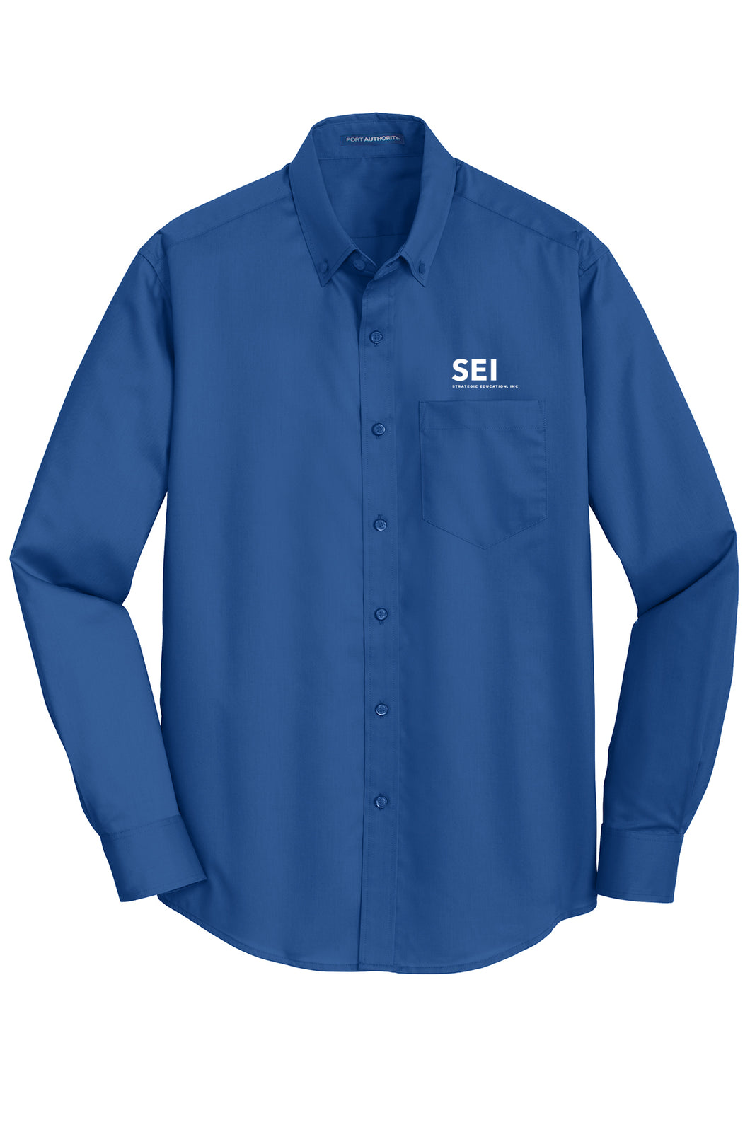 SEI - Port Authority SuperPro Twill Shirt - True Blue