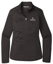 Port Authority Ladies Diamond Heather Fleece Full-Zip Jacket