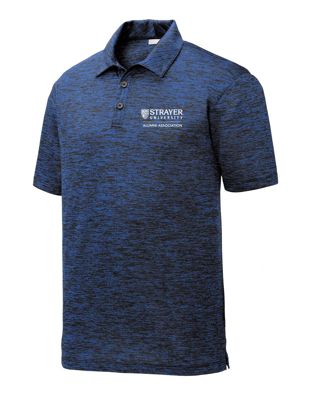 Alumni Electric Heather Polo DARK ROYAL