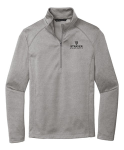Port Authority Diamond Heather Fleece 1/4-Zip Pullover