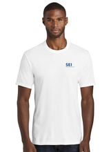 SEI - Port & Company Fan Favorite Blend Tee - White
