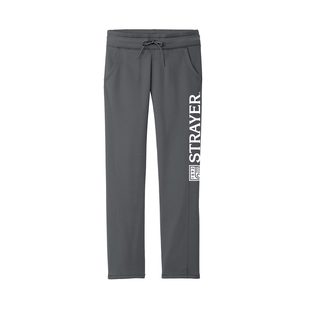 Sport-Tek® Ladies Sport-Wick® Fleece Pant Dark Smoke Grey