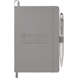 "HONORS 5.5"" x 8.5"" Trento Bound JournalBook® Bundle Set - Gray"