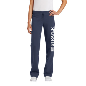 Sport-Tek® Ladies Fleece Pant True Navy