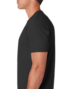 Next Level Men's CVC Crew-BLACK