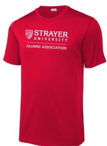 ALUMNI MEN'S Sport-Tek ® Posi-UV ™ Pro Tee RED