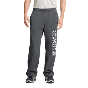 Sport-Tek® Sport-Wick® Fleece Pant Dark Smoke Grey