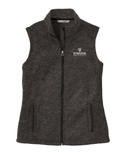 Port Authority Ladies Sweater Fleece Vest