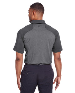 Spyder Men's Peak Polo-BLACK/HEATHER BLACK