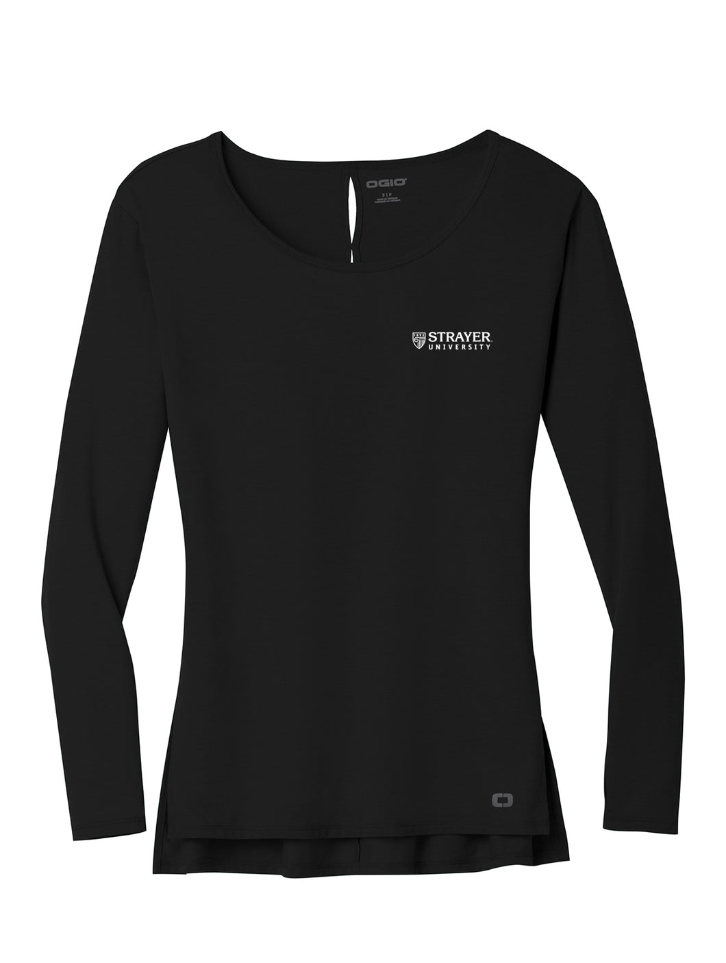 OGIO Ladies Luuma Long Sleeve Tunic - Blacktop