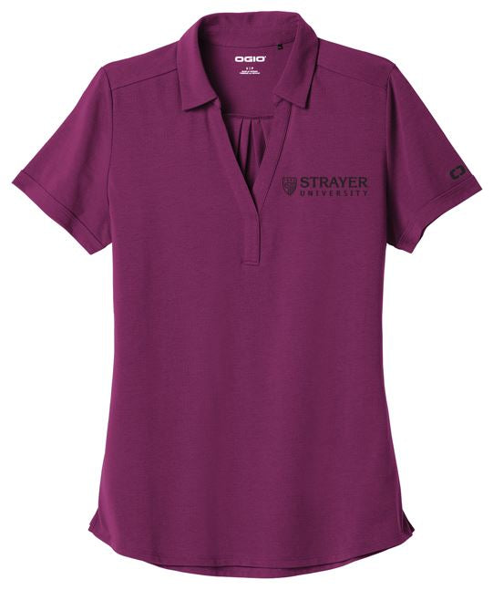 OGIO Ladies Limit Polo - Purple Fuel