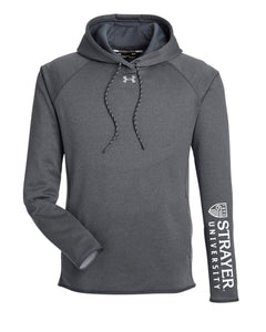 Under Armour Ladies' Double Threat Armour Fleece® Hoodie - HEATHER/STEEL