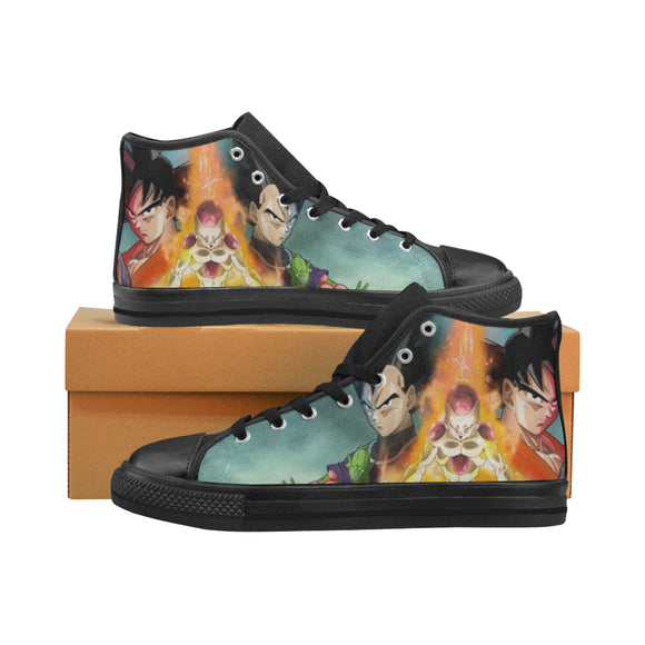 Dragon Ball Z Fire and Sky - Women's Shoes