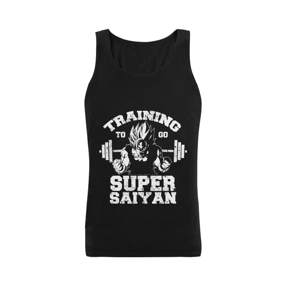 Training To Go Super Saiyan - Men's Tank Top