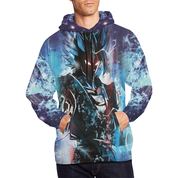 Goku God Form Hoodie - Men's