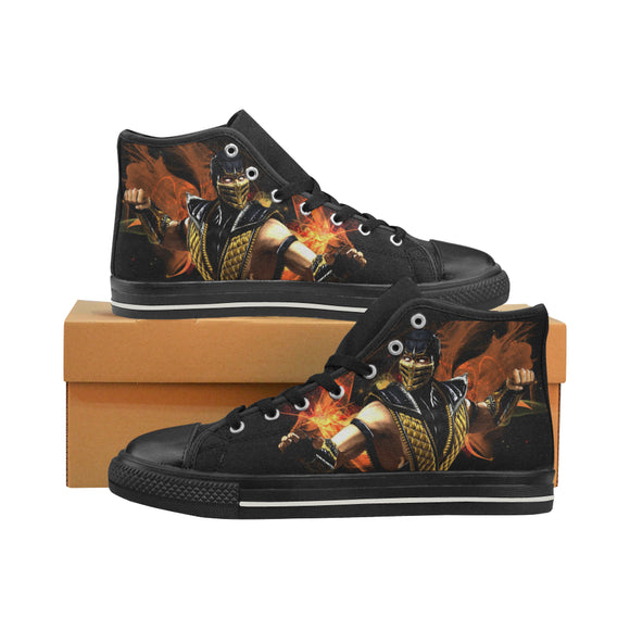 Mortal Kombat Scorpion - Men's Shoes