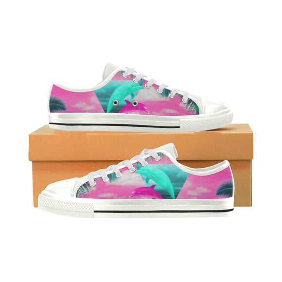 Dolphins Tropical - Women's Shoes