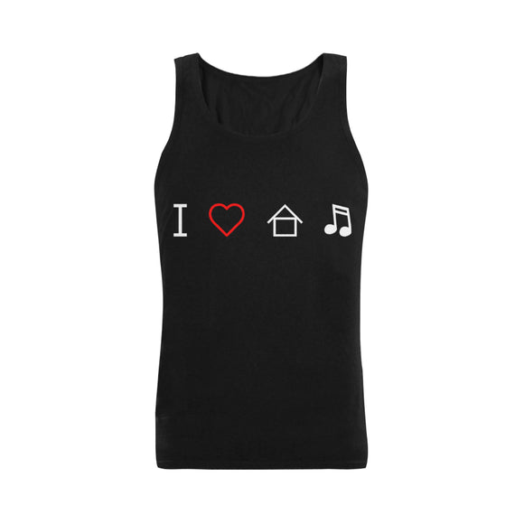 I Heart House Music - Men's Tank Top