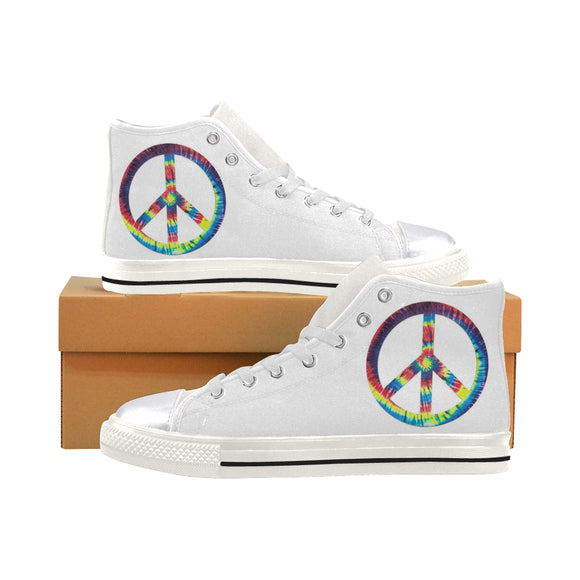 Peace Love Sign - Women's Shoes