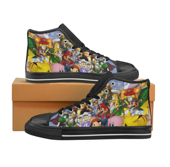 Super Smash Bros Melee - Men's Shoes