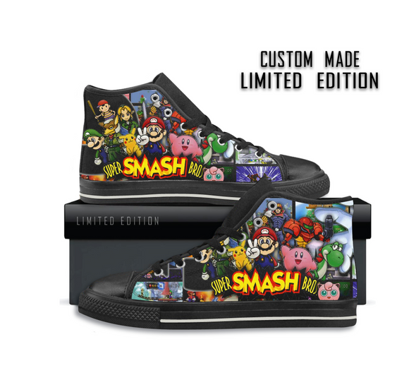 Super Smash Bros - Children's Shoes