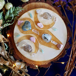 Fertility Moon Goddess Crystal Grid Set